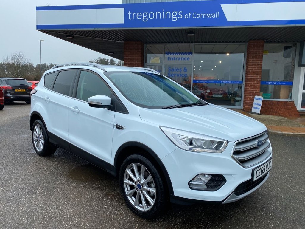 USED 2019 69 FORD KUGA 1.5L TITANIUM EDITION 5d 148 BHP