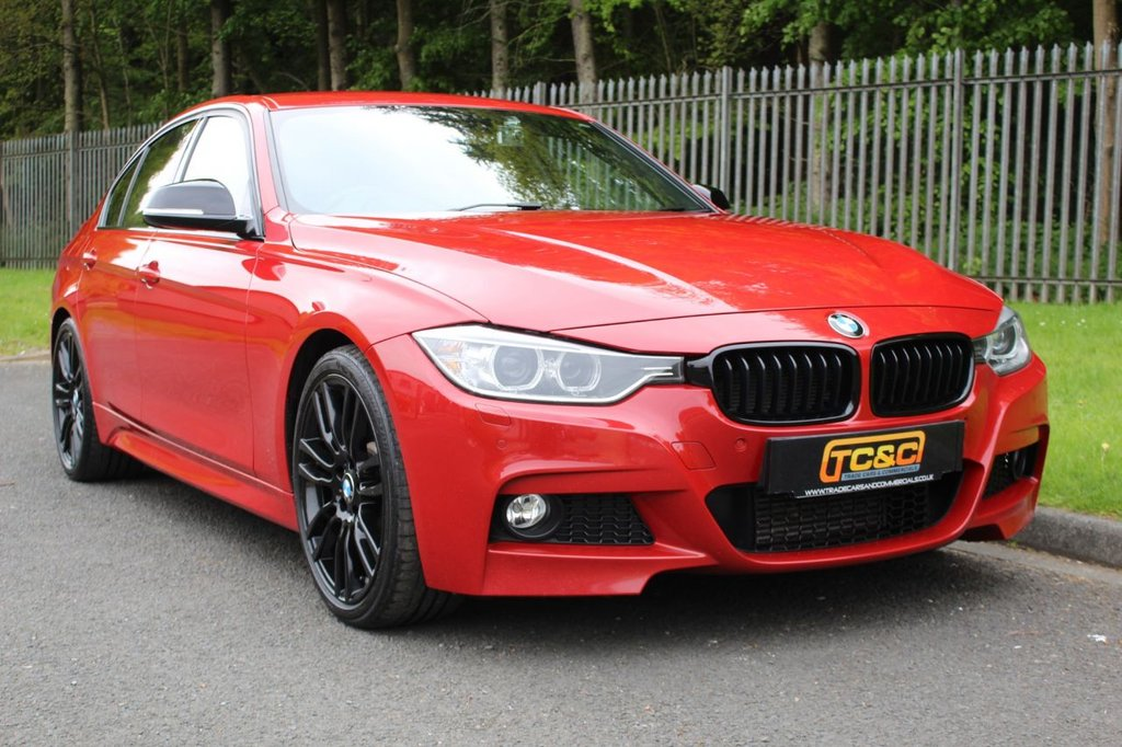 USED 2015 15 BMW 3 SERIES 3.0 330D M SPORT 4d 255 BHP A STUNNING HIGH SPEC BMW 330D WITH BMW SERVICE HISTORY!!!