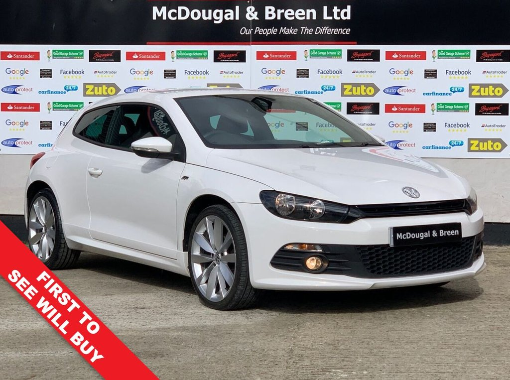 USED 2014 14 VOLKSWAGEN SCIROCCO 2.0L R LINE TDI BLUEMOTION TECHNOLOGY 2d 140 BHP