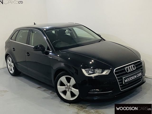 USED 2013 63 AUDI A3 1.4 TFSI SPORT 5DR 1 Owner From New / Bluetooth