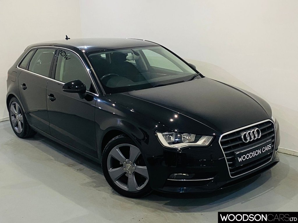USED 2013 63 AUDI A3 1.4 TFSI SPORT 5DR 1 Owner From New / Bluetooth / Isofix / Aux / Rear Parking Sensors