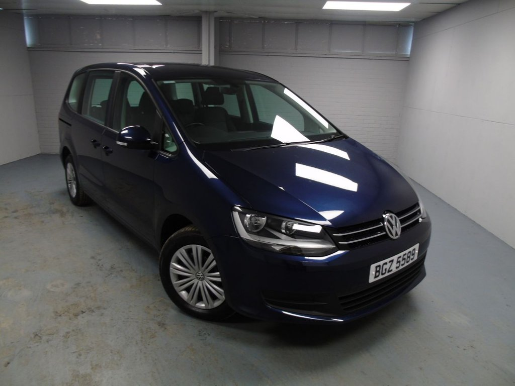 USED 2016 VOLKSWAGEN SHARAN 2.0 S TDI BLUEMOTION TECHNOLOGY 5d 148 BHP £277 a month, T&C's apply.