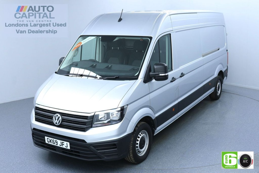 USED 2019 69 VOLKSWAGEN CRAFTER 2.0 CR35 RWD TRENDLINE 138 BHP LWB Euro 6 Low Emission Finance Packages Available | Business Pack | Air Con | Park Pilot | EBA