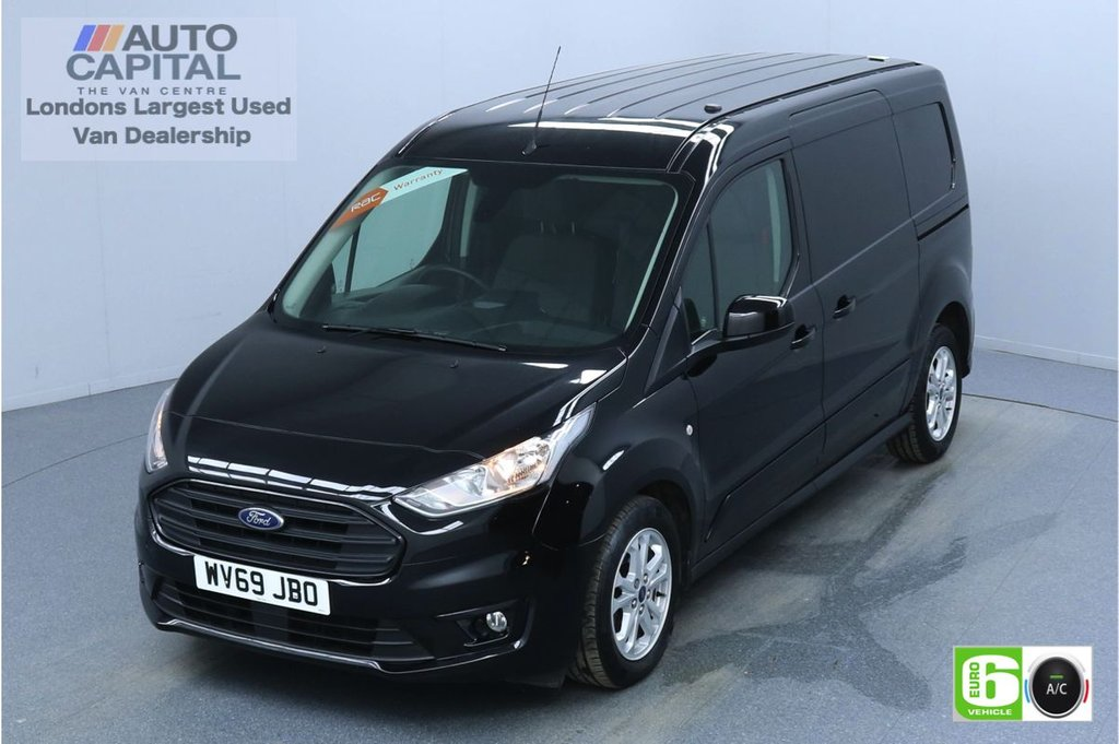 USED 2019 69 FORD TRANSIT CONNECT 1.5 240 LIMITED TDCI 120 BHP L2 LWB AUTO 3 SEATS EURO 6  AIR CON   PARKING SENSORS   ALLOY WHEELS