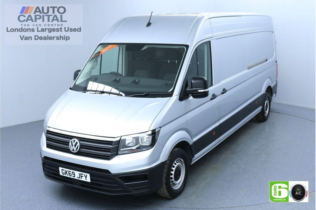 USED 2019 69 VOLKSWAGEN CRAFTER 2.0 CR35 RWD TRENDLINE 140 BHP LWB Euro 6 Low Emission Finance Packages Available   Business Pack   Air Con   Park Pilot   EBA+ESP