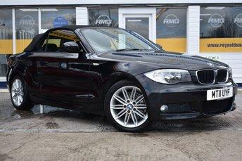 2011 BMW 1 SERIES 2.0 118I M SPORT 2d 141 BHP CONVERTIBLE £8499.00