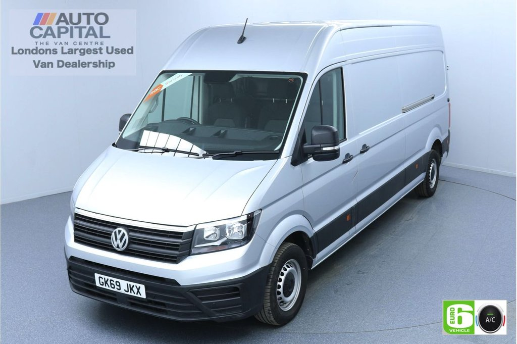 USED 2019 69 VOLKSWAGEN CRAFTER 2.0 CR35 RWD TDI TRENDLINE 138 BHP LWB EURO 6 ENGINE AIR CON | BUSINESS PACK | FRONT-REAR PARKING SENSORS