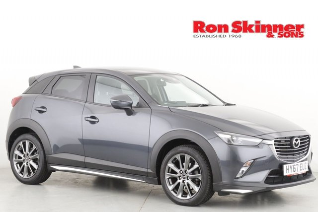View our 2017 67 MAZDA CX-3 2.0 GT SPORT 5d 118 BHP
