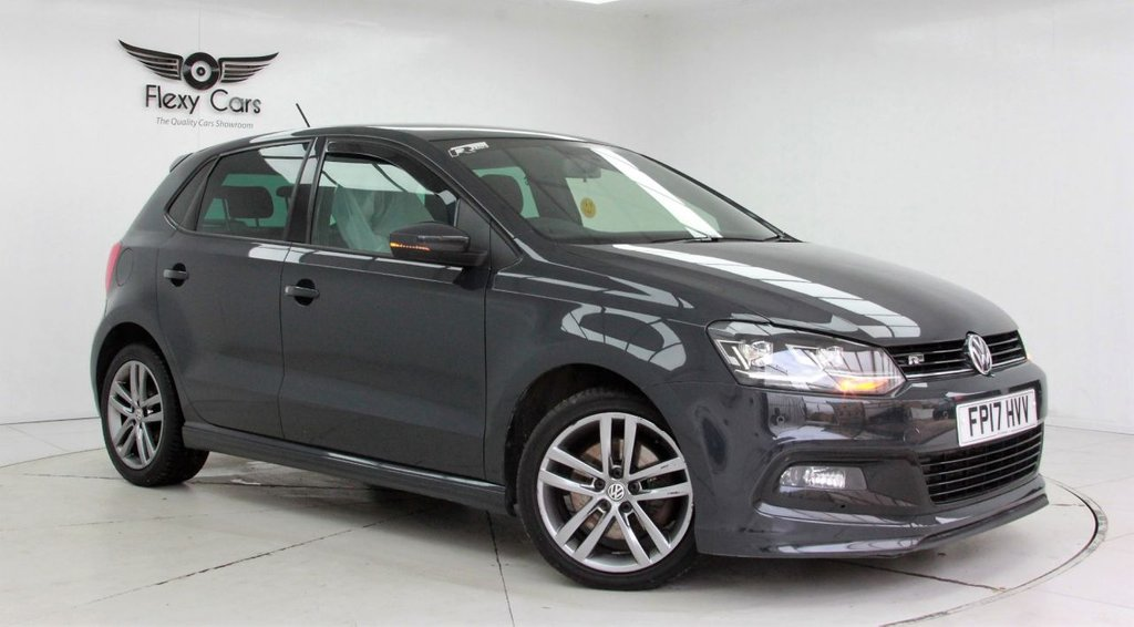 USED 2017 17 VOLKSWAGEN POLO 1.0 R LINE TSI 5d 109 BHP