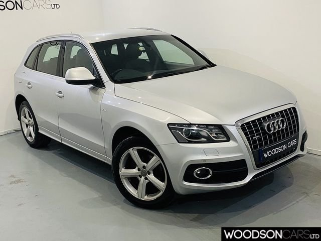 USED 2009 09 AUDI Q5 2.0 TDI QUATTRO DPF S LINE 5DR Full Leather / 2 Previous Owners / Timing Belt at 71k / Private Plate Included