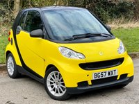 USED 2007 57 SMART FORTWO 1.0 PASSION 2d 70 BHP ALLOY WHEELS