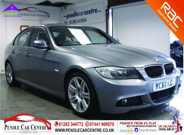 USED 2010 60 BMW 3 SERIES 2.0 318D M SPORT 4d 141 BHP RAC Approved I Finance From 4% Flat I RAC Platinum Warranty Included