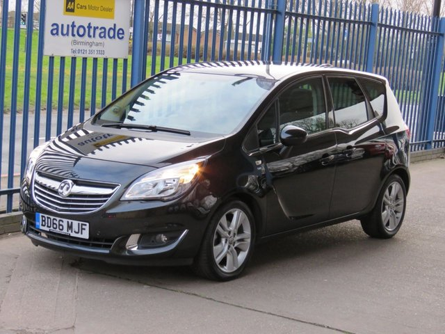 USED 2017 66 VAUXHALL MERIVA 1.4 SE 5d 118 BHP, AUTOMATIC, ULEZ COMPLIANT Pan roof Cruise Bluetooth 1 Owner, Vauxhall Main Dealer Service History, Front and Rear Parkinmg Sensors, Bluetooth, DAB