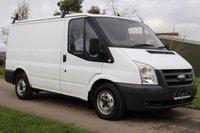 USED 2007 57 FORD TRANSIT 2.2 280 SWB LR 85 BHP NO VAT - LOW MILAGE -