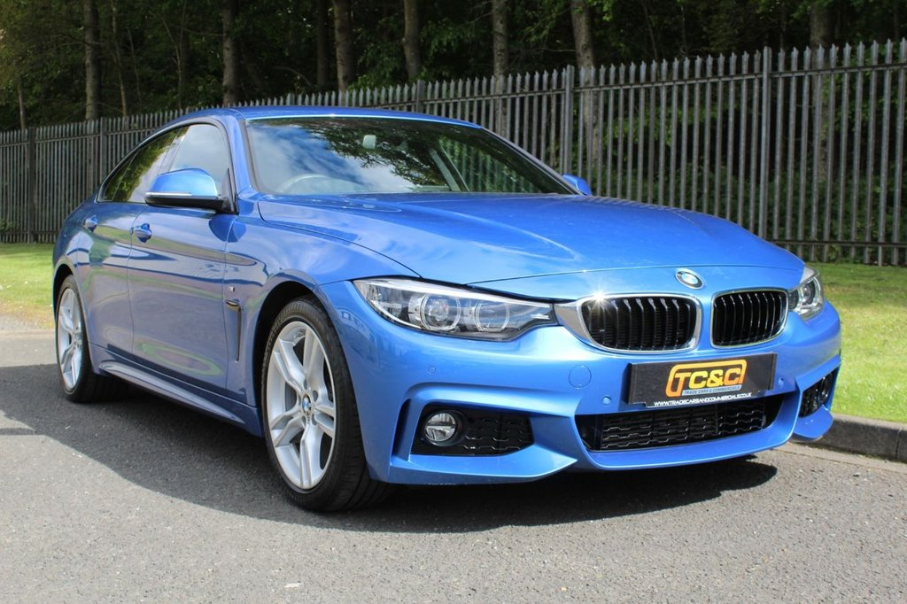 USED 2017 17 BMW 4 SERIES 2.0 420D M SPORT GRAN COUPE 4d 188 BHP A CLEAN LOW MILEAGE CAR WITH COMPREHENSIVE SERVICE HISTORY AND A GREAT SPEC!!!