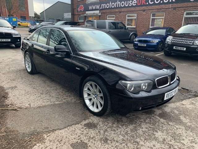 USED 2002 02 BMW 7 SERIES 4.4 745I 4d 329 BHP EXCELLENT CONDITION FOR AGE AND MILEAGE, COMES WITH SERVICE HISTORY, ALLOY WHEELS, LEATHER INTERIOR