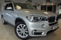USED 2017 17 BMW X5 3.0 XDRIVE30D SE 5d AUTO 255 BHP FINISHED IN STUNNING METALLIC GLACIER SILVER WITH FULL BLACK LEATHER HEATED SEATS WITH MEMORY PACK + 7 SEATS + 1 OWNER FROM NEW WITH A FULL BMW MAIN DEALER SERVICE HISTORY + PROFESSIONAL SATELLITE NAVIGATION + DAB DIGITAL RADIO + BLUETOOTH MEDIA + APP CONNECT + WIFI CONNECTIVITY + ELECTIRC ADJUSTING STEERING WHEEL + REAR CAMERA + ROOF RAILS + XENON HEADLIGHTS + FRONT/REAR PARK ASSIST + 7 SEATS + POWER FOLDING MIRRORS + AUTO LIGHTS + VOICE COMMAND + SELECTABLE DRIVING MODES + AUTO HOLD + RAIN SEN