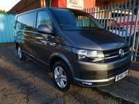 2016 VOLKSWAGEN TRANSPORTER T32 SWB 2.0 TDi 150 PS HIGHLINE 4MOTION *AIR CON*EURO 6* £17000.00