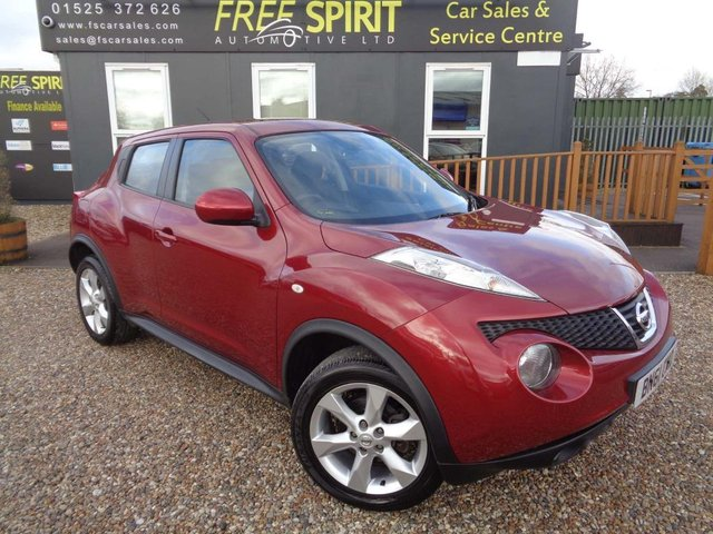 USED 2011 61 NISSAN JUKE 1.6 16v Acenta 5dr Bluetooth, Low mileage