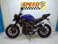 USED 2018 68 YAMAHA MT 125 ABS