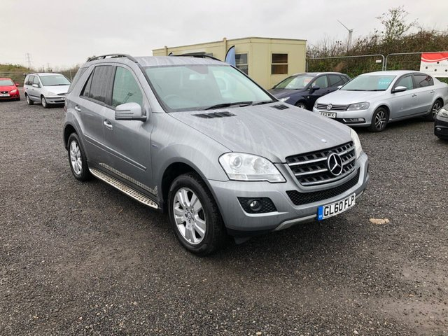 2011 60 MERCEDES-BENZ M-CLASS 3.0 ML350 CDI BLUEEFFICIENCY SE 5d 231 BHP