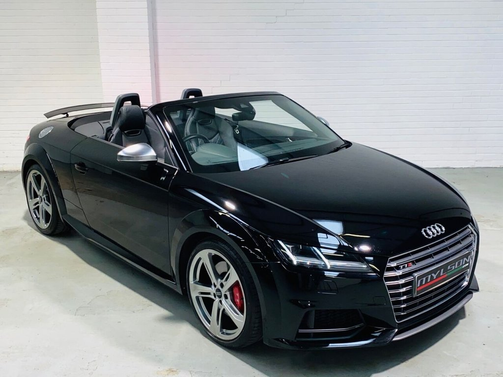 USED 2015 65 AUDI TT 2.0 TTS TFSI QUATTRO 2DR SEMI AUTOMATIC B&O Audio, Airscarf, Diamond Quilted Upholstery, Only 19k Miles