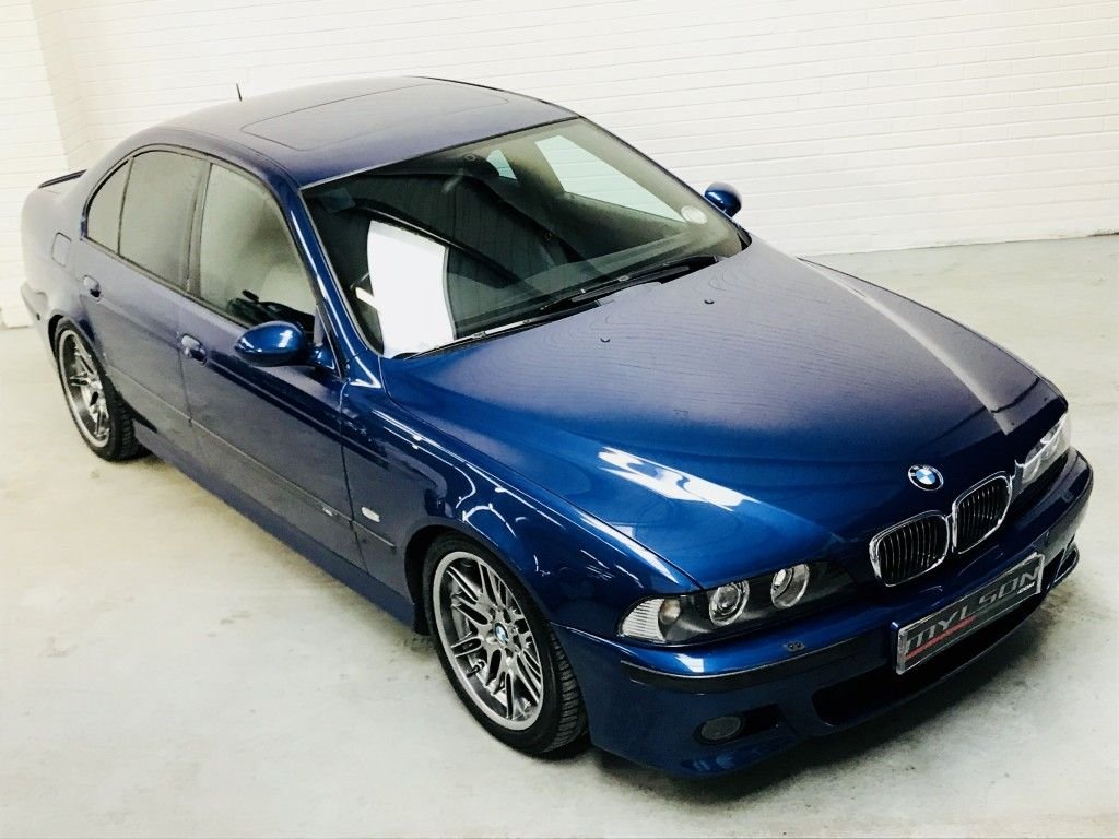 USED 2000 X BMW 5 SERIES 4.9 M5 4DR Stunning Le Mans Blue, Fantastic Service History, 2 Former Keepers