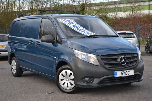 USED 2015 65 MERCEDES-BENZ VITO 1.6 111 CDI 114 BHP L1 SWB 1 OWNER ~ 2 KEYS ~ ROOF BARS ~ 6 MONTHS WARRANTY