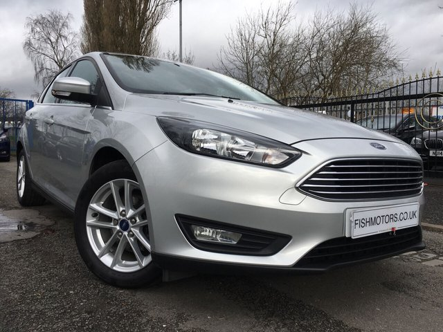 USED 2016 16 FORD FOCUS 1.0 ZETEC 5d 100 BHP ALLOYS+AIRCON+PARKING+MEDIA+20ROADTAX+NAV+AUX+USB+CLEANCAR+