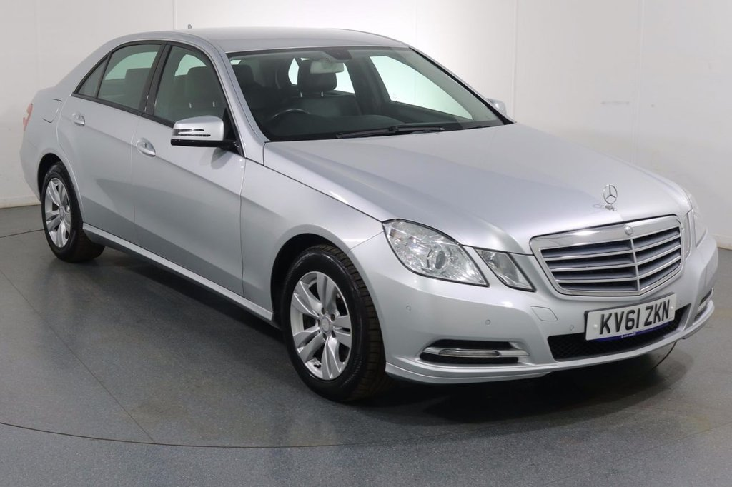 USED 2011 61 MERCEDES-BENZ E CLASS 2.1 E250 CDI BLUEEFFICIENCY SE EDITION 125 4d 204 BHP Demo and 2 OWNERS with 9 Stamp SERVICE HISTORY