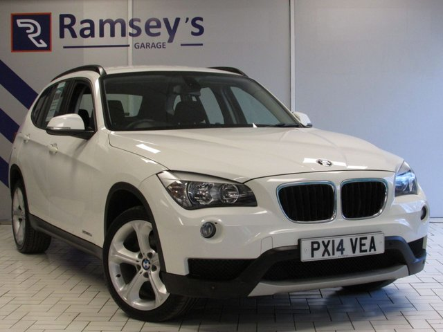 USED 2014 10 BMW X1 2.0 XDRIVE20D SE 5d 181 BHP