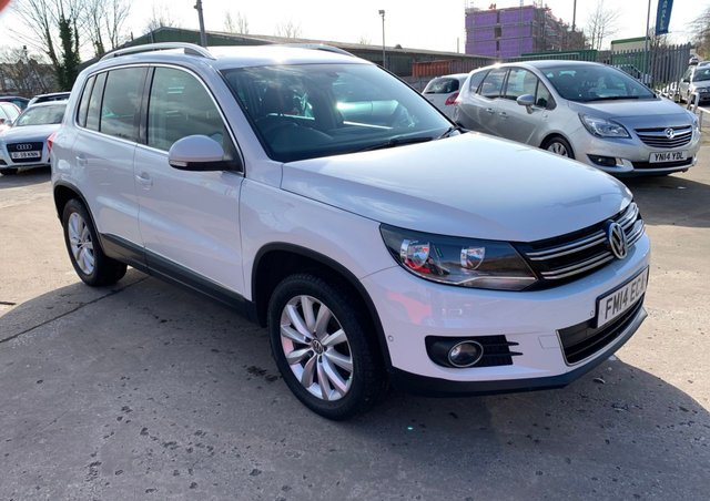 USED 2014 14 VOLKSWAGEN TIGUAN 2.0 MATCH TDI BLUEMOTION TECHNOLOGY 4MOTION 5d 139 BHP FREE 12 MONTH AA RECOVERY INC