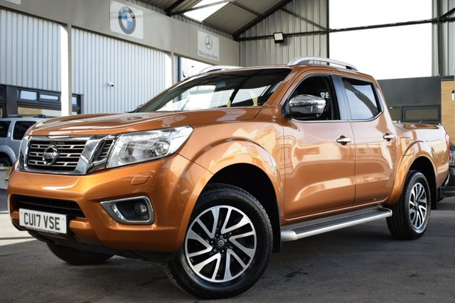 USED 2017 17 NISSAN NAVARA 2.3L DCI TEKNA 4X4 SHR DCB 0d AUTO 190 BHP ONLY ONE OWNER FROM NEW + FSH + NO VAT, MUST BE SEEN!