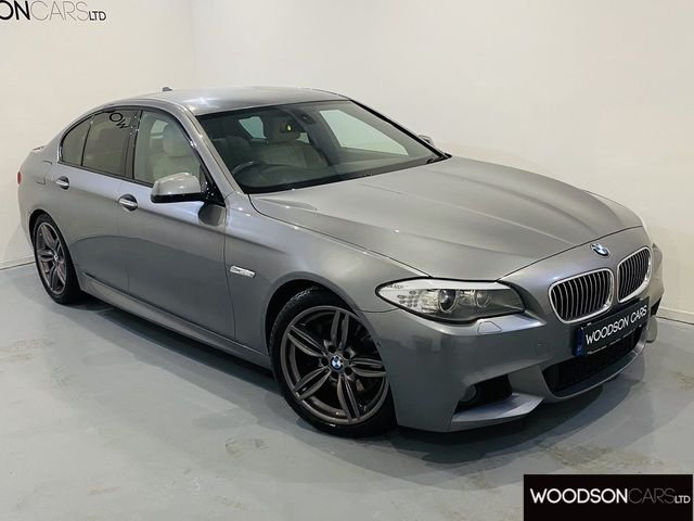 USED 2011 60 BMW 5 SERIES 3.0 525D M SPORT 4DR AUTOMATIC 1 Previous Owner / Professional Navigation / Bluetooth