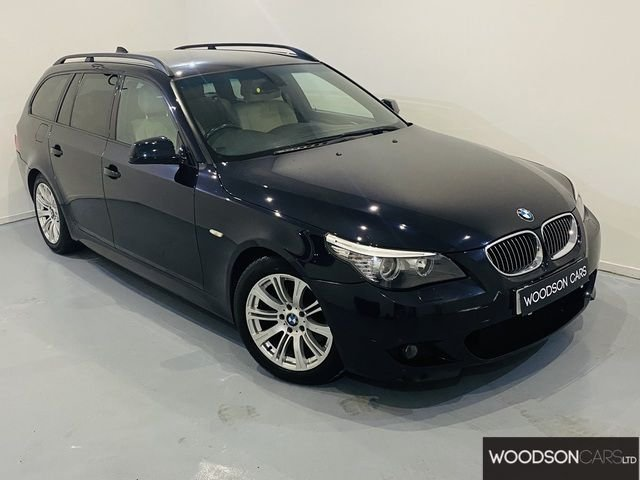 USED 2009 59 BMW 5 SERIES 3.0 525D M SPORT BUSINESS EDITION TOURING 5DR AUTOMATIC 1 Previous Owner / Pro Navigation