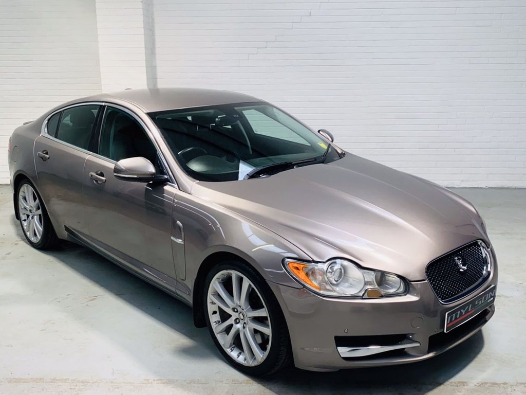 USED 2011 11 JAGUAR XF 3.0 V6 S PREMIUM LUXURY 4DR AUTOMATIC Vapour Grey with Full Black Leather, Touch Screen Media, Low Mileage