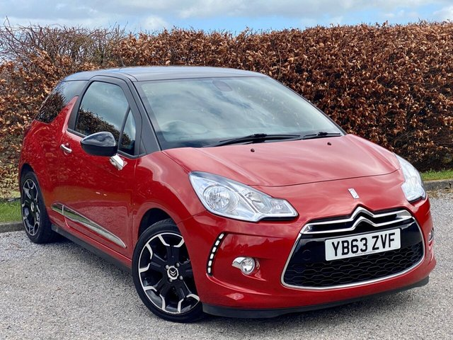"USED 2014 CITROEN DS3 1.6 E-HDI DSTYLE PLUS 3d REAR PARKING SENSORS , 17"" ALLOY WHEELS"