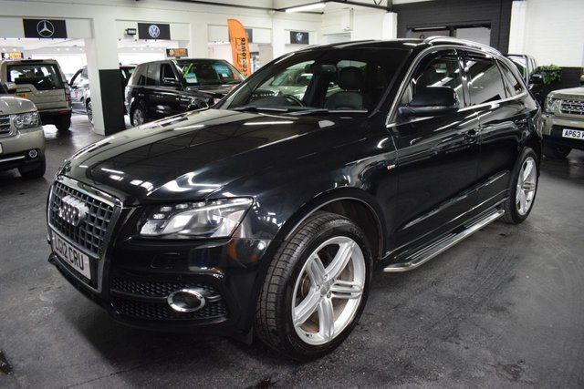 USED 2012 12 AUDI Q5 2.0 TDI QUATTRO S LINE PLUS 5d 143 BHP STUNNING CONDITION THROUGHOUT - S LINE - QUATTRO 4X4 - FULL LEATHER - SAT NAV - PRIVACY GLASS - 21 INCH ALLOY WHEELS