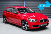 USED 2011 61 BMW 1 SERIES 116i SPORT  ** FRONT SPORTS SEATS, WELCOME LIGHTING, ISOFIX POINTS **