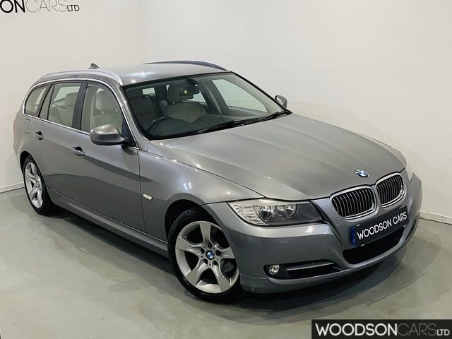 USED 2011 11 BMW 3 SERIES 2.0 320D EXCLUSIVE EDITION TOURING 5DR Full Service History / Sat Nav / Bluetooth / Leather