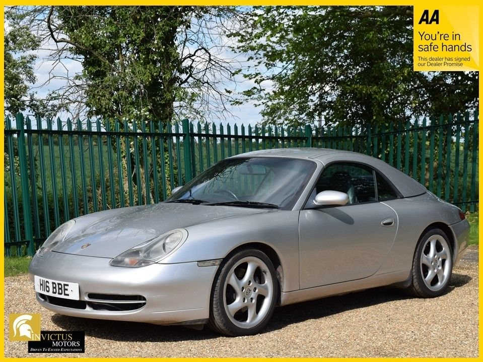USED 2001 H PORSCHE 911 3.4 CARRERA CABRIOLET TIPTRONIC S 2d 300 BHP