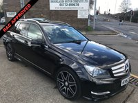 2013 MERCEDES-BENZ C CLASS 2.1 C220 CDI BLUEEFFICIENCY AMG SPORT PLUS 5d 168 BHP £8995.00