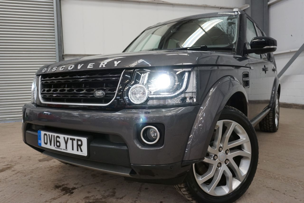 Used LAND ROVER DISCOVERY 4for sale