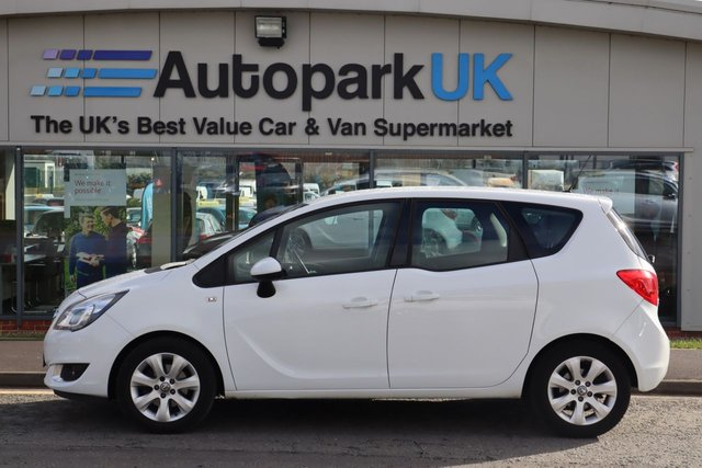 USED 2017 17 VAUXHALL MERIVA 1.4 LIFE 5d 99 BHP LOW DEPOSIT OR NO DEPOSIT FINANCE AVAILABLE