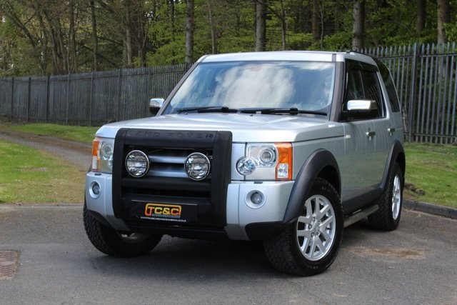 2008 58 LAND ROVER DISCOVERY 2.7 3 COMMERCIAL XS 188 BHP