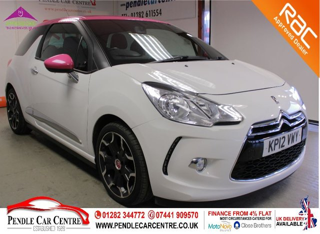 USED 2012 12 CITROEN DS3 1.6 E-HDI AIRDREAM DSPORT 3d 111 BHP RAC Approved Vehicle - 4% Flat £0 Deposit Finance Available - Platinum Warranty Included