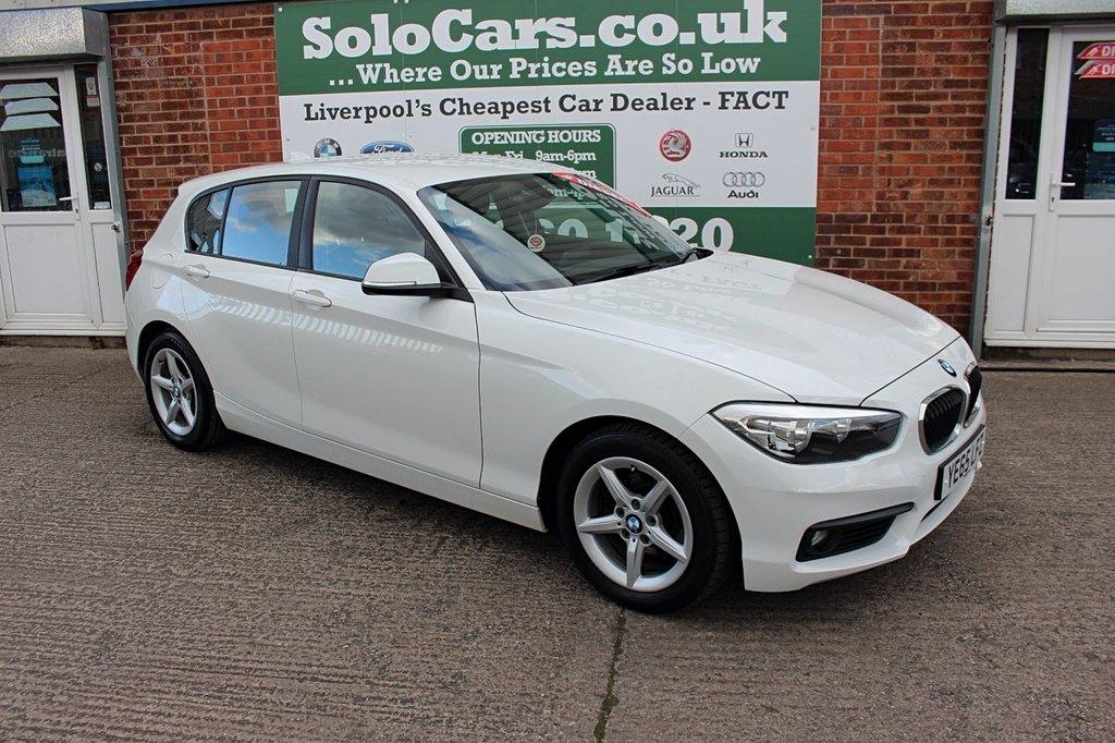 USED 2015 65 BMW 1 SERIES 1.5 116D ED PLUS 5d 114 BHP +SERVICED +FREE TAX +SAT NAV.