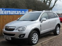 USED 2012 62 VAUXHALL ANTARA 2.2 EXCLUSIV CDTI 4WD S/S 5d 161 BHP FSH, LOVELY LOW MILES!
