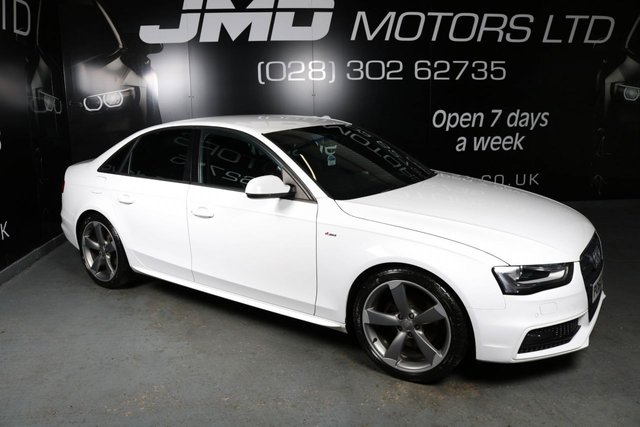 USED 2013 62 AUDI A4 2013 AUDI A4 2.0 TDI S LINE BLACK EDITION STYLE 174 BHP (FINANCE AND WARRANTY)