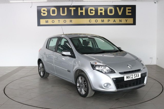 USED 2012 12 RENAULT CLIO 1.6 DYNAMIQUE TOMTOM VVT 5d 111 BHP